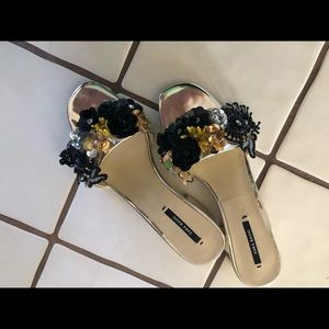 Limited edition Zara sandal heels